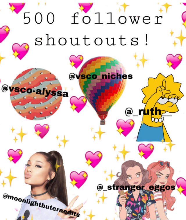 ✨𝕒𝕔𝕔𝕠𝕦𝕟𝕥 𝕝𝕚𝕟𝕜𝕤✨  GUYS WE DID IT! we made it to 500! we are half way to 1000! i never thoight i would make it this far. tysm loves 😭✨💞  -52nd post? -501 followers 🤩💞✨ -go ahead and repost! get these accounts more followers!   @vsco-alyssa : we started off in an argument, then we got to be friends! im so glad that we didnt stay like we were before, because you are so nice. 💞  @vsco_niches : thanks so much for liking a ton if my posts, and a follow! your niches are so good and you deserve way more! go follow her! 🤙💞  @_ruth____  : thanks for all the likes! 💞 also your edits are AMAZING. i wish i was as good as you!!   @moonlightbuteraedits : thanks for being a regular visitor on my account! your account is so nice and organized, and your edits are so good! hiw do you do it? 💖  @_stranger_eggos : tysm for all the recent likes and the follow! you are by far my favorite edits account. how are you so organized?? i love the way your account is setup and you deserve SOO many followers. 🤩🥰  time: 5:24 pm mood: ☺️ (but also 😫 because i have two big tests tomorrow)  no qotd or anything toda because im lazy and i have to go study.  tags: #niche #nichememe #aesthetic #vsco #tumblr #cute #500 #500followers #halfway #shoutouts #exited #celebration #art #people #summer #emojis  stickers from:  #freetoedit