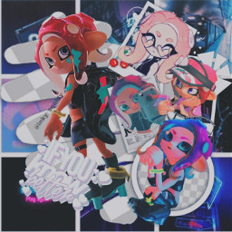 agent8 splatoon octoling octoexpansion octolinggirl freetoedit