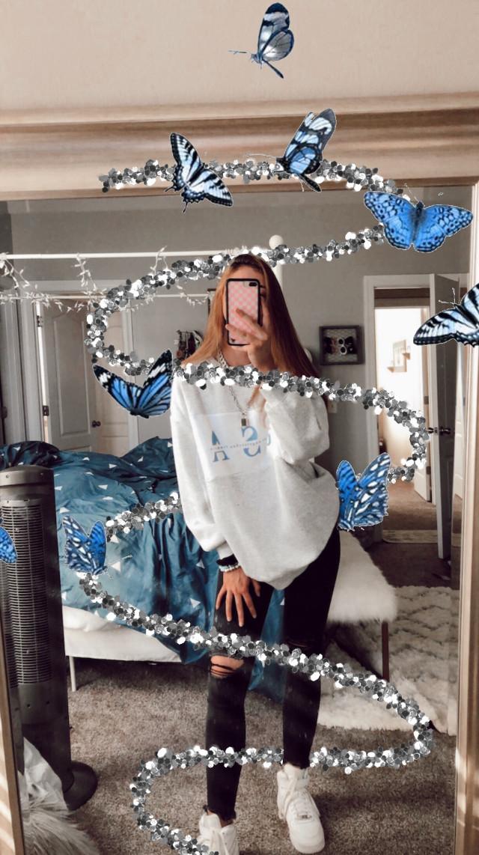 #freetoedit #aesthetic #butterfly #blue #vsco
