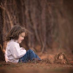 boy childhood woods woodland light