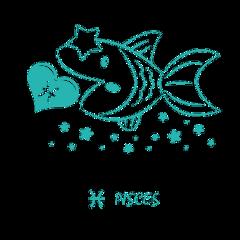 zodiac pisces fish freetoedit