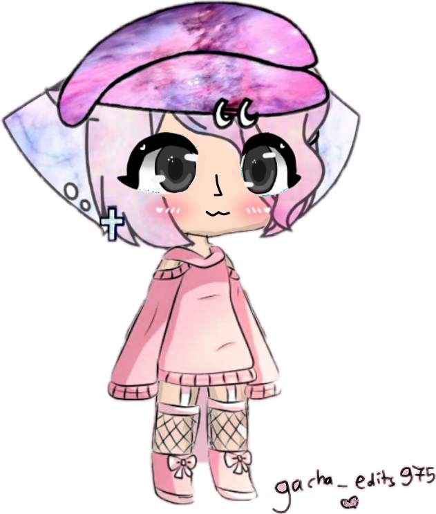 #gachalifeedits #sticker #pink #marble #galaxy #cute #oc