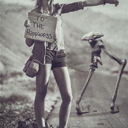 alien ufo spaceship girl road freetoedit