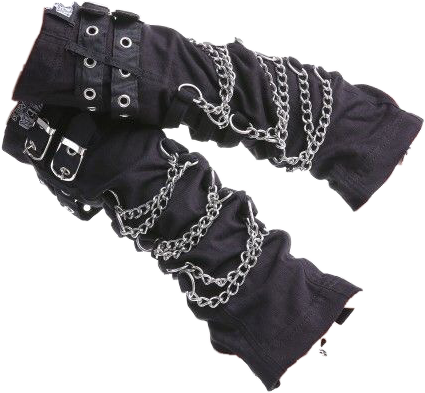 #goth #emo #scene #scenecore #emocore #rave #gloves #armwarmers #armwarmer #glove #chains #black #punk #freetoedit