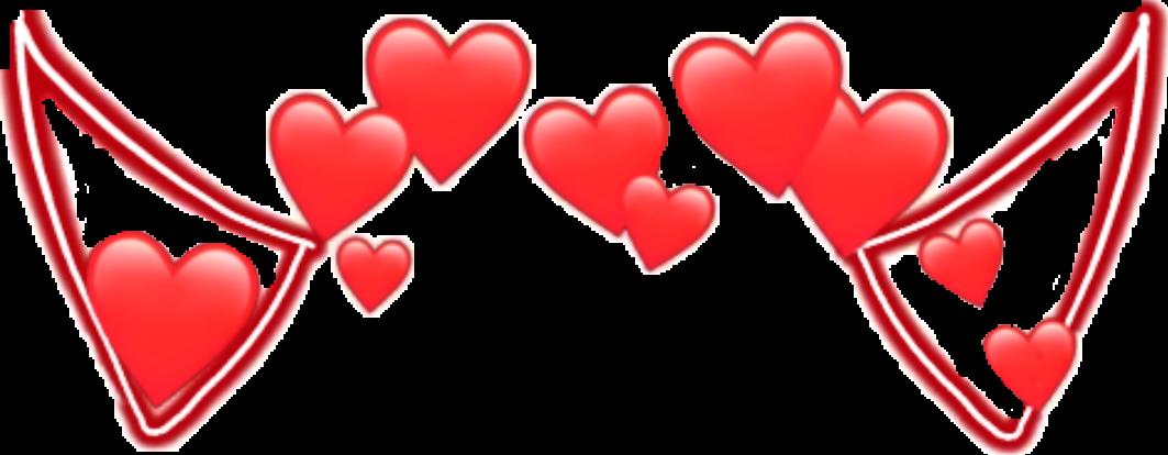 #венок #heart #red #demon #smile