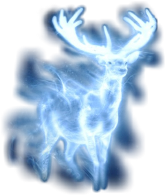 patronus stag buck deer harry_potter freetoedit