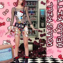 freetoedit dollskill sanrio hellokitty kawaii