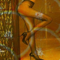 orange woman editbyme