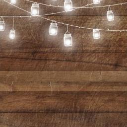 card invitation masonjars stringlights fireflies freetoedit