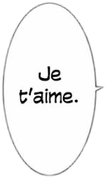 jetaime iloveyou manga aesthetic text freetoedit