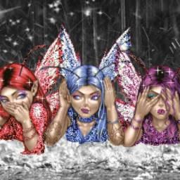 freetoedit metallic sparkle fairygirl truthspeaker