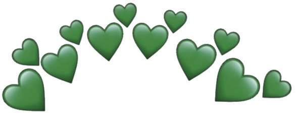 #darkgreen #green #hearts #heartemoji #heartemojis #greenheart #greenhearts #darkgreenhearts #greenemoji #heartcrown #emojicrown #greenemojicrown #neutral #neutrals #heartemojicrown