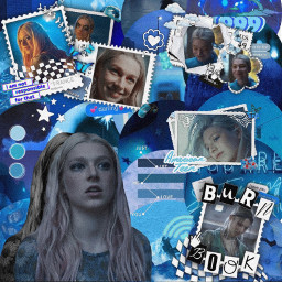 jules hunterschafer euphoria hbo blueaesthetic blueandwhite