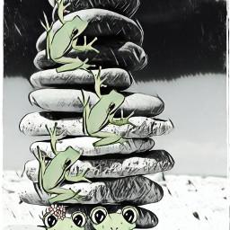 frogs freetoedit