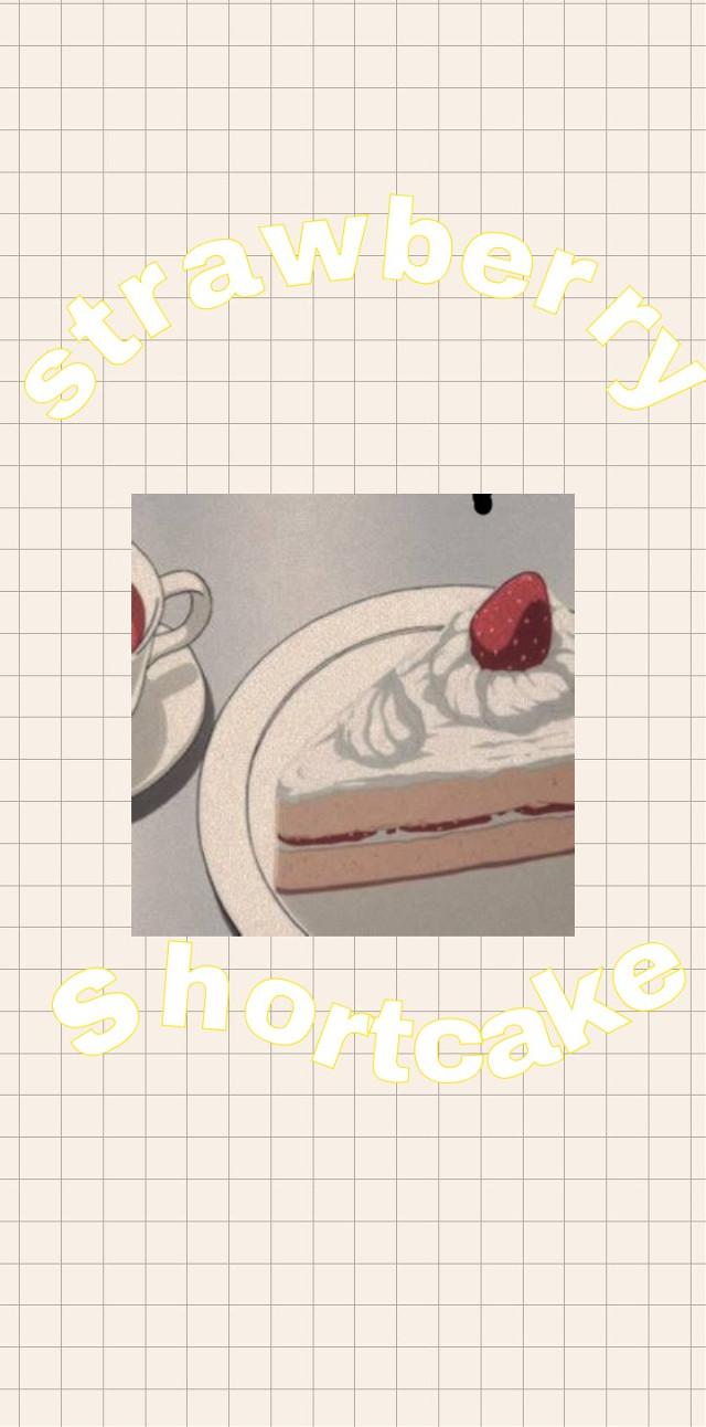 #freetoedit #strawberry #wallpaper #soft #aesthetic #vintage