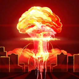 nuclearbomb freetoedit ircredjellyfish