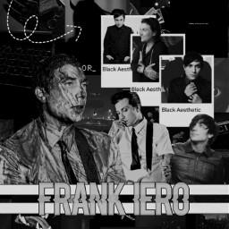 freetoedit frankiero mcr mychemicalromance black