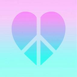 freetoedit peace heart peaceheart background