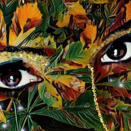 freetoedit artisticportrait artisticeffect remixedwithpicsart women