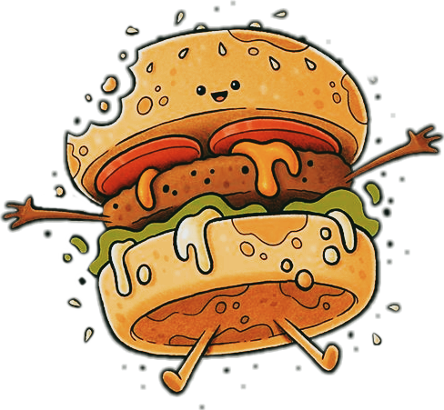 #hamburger #hamburguesa #kawaii #daniel