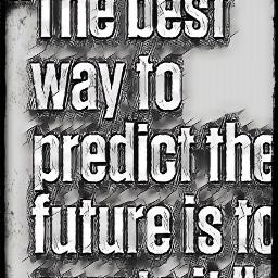 the best way to predict