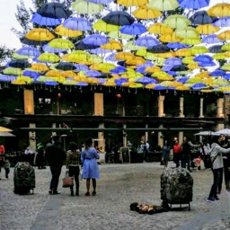 freetoedit rainyday umbrellas cobblestone street pcgloomyweather