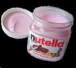 nutella aesthetic pink pinkspread spread freetoedit