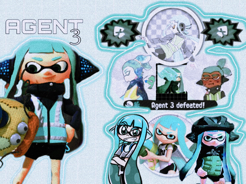 boom, bam, ba da ba, boom, pow. #agent3 #splatoon #splatoon2 #octoexpansion  there you go @pearlsdualies (i miss calling you lilly :c. And this isnt for contest) #freetoedit