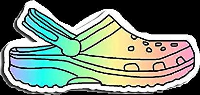 rainbow croc tumblr vsco aesthetic freetoedit