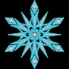 freetoedit blue snowflakes ice