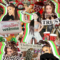 christmas arianagrande aesthetic christmastime