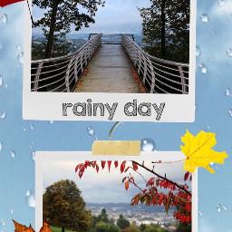 rain rainyday raindrops nature sky ccautumnmoodboard