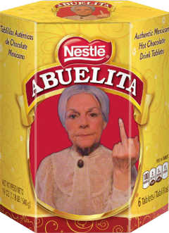 abuelita chocolate freetoedit