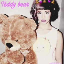 freetoedit mealaniemartinez crybaby teddybear