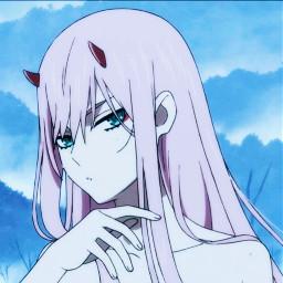freetoedit zerotwo 002 anime animeedit