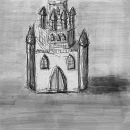 freetoedit castle solitary blackandwhite likeforlike dcoutlineart outlineart