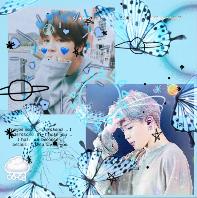 #freetoedit this is jimin bts