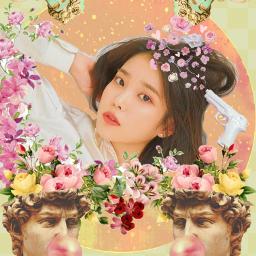iu palette aesthetic kpop kpopfanart