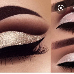 makeup eyemakeup glam eyeliner lashes freetoedit