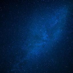 galaxy sky stars blue background freetoedit