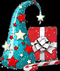 freetoedit christmas tree present gift