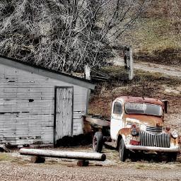 angeleyesimages landscape vintage vintagetruck truck