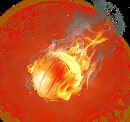 fire ball fireball volleyball freetoedit