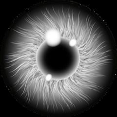 eye white black freetoedit