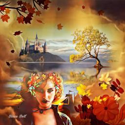 freetoedit thankful orange fall thanksgiving