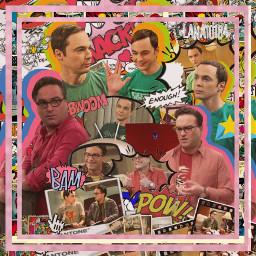 contest100strangerpotter thebigbangtheory bigbang bigbangtheory leonard freetoedit