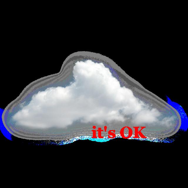#clouds #itsokay #aesthetic #tumblr #aesthetics #white #red #sticker