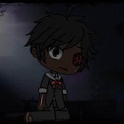 me gachalife sad zombie freetoedit