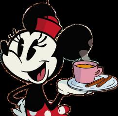 cartoon disney minniemouse bambina coffee freetoedit