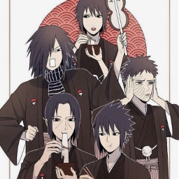 uchiha itachi sasuke obito madara